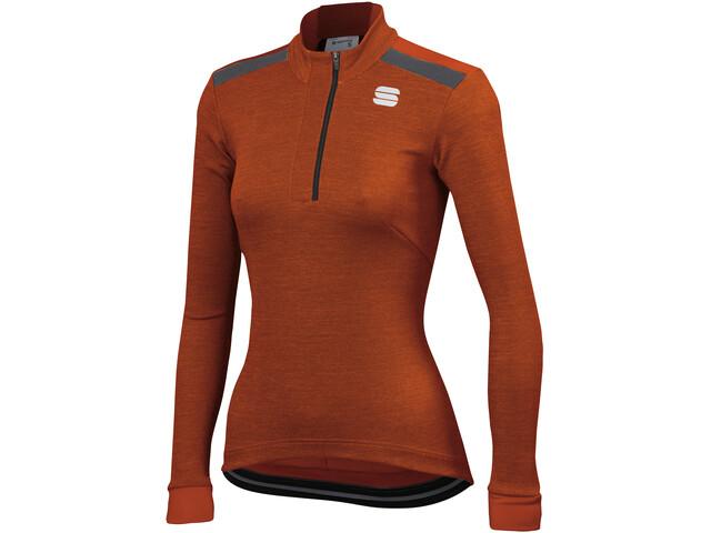 Sportful Giara Bluza termiczna Kobiety, sienna